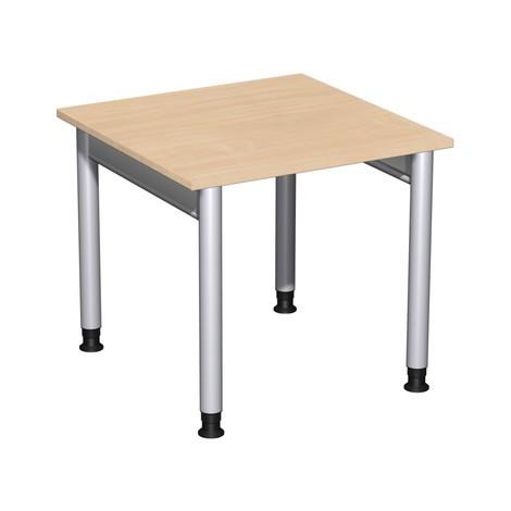 Profesionálny stôl, 4-noha rám, výškovo nastaviteľný