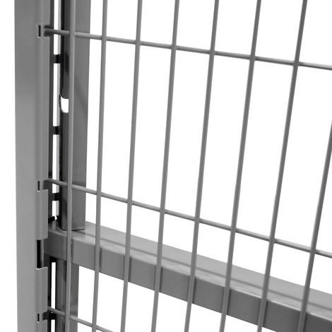 Profilé d'arrêt pour grilles de protection pour machines TROAX®