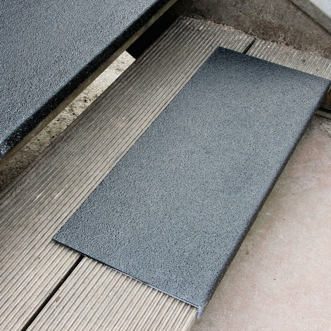 Profilo per bordi in plastica rinforzata con fibre di vetro (GFK) extra forte