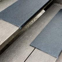 Profilo per bordi in plastica rinforzata con fibre di vetro (GFK) medio
