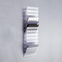 Prospektspender FLEXIBOXX im DIN A4 Format, wahlweise hoch oder quer