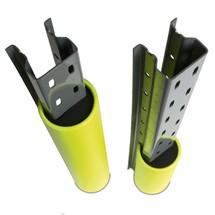 Proteção contra colisão em plástico para as colunas da estanteria