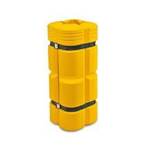 Proteção contra colisão para pilares, flexível