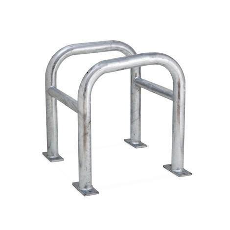 Proteção de pilar, área exterior, galvanizado