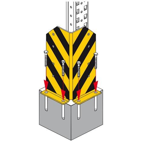 Protección antichoques para la estantería MULTIPAL®