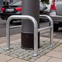Protection de colonne, pour l'extérieur, galvanisée