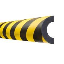Protection de tuyau, cintrée, magnétique