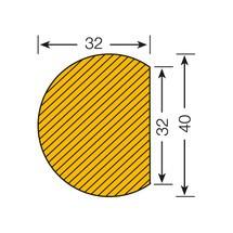 Protetor de superfície circular autocolante