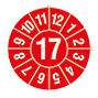 Prüfplakette 2016 oder 2017: '16'  oder '17' nach Monaten