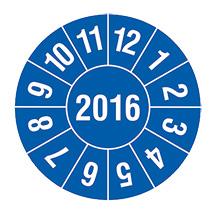 Prüfplakette 2016 oder 2017 nach Monaten
