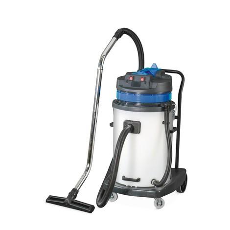 Průmyslový vysavač BASIC, sklápěcí podvozek, mokré + suché vysávání, 2000W