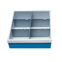 Przegrody szufladowe do kompaktowych stołów roboczych