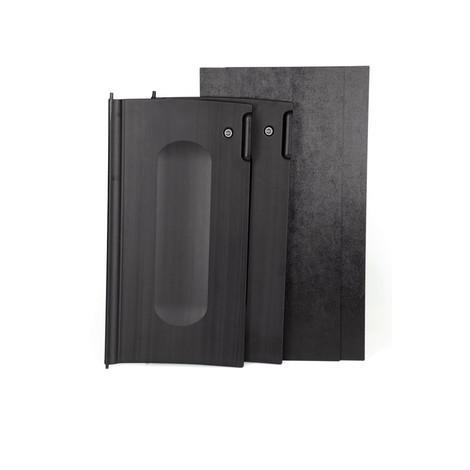 Puertas con cerradura para la limpieza del carro plataforma Rubbermaid®