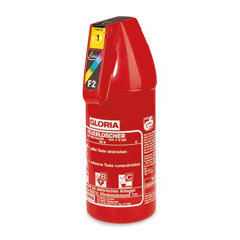 Pulverlöscher F2G, Inhalt 2 kg