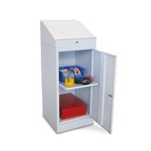 Pupitre PAVOY avec armoire, 1tablette extractible+1tiroir