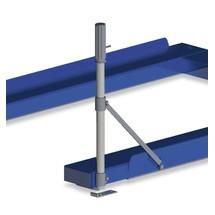 Puxador para sistema mecânico de extração de paletes