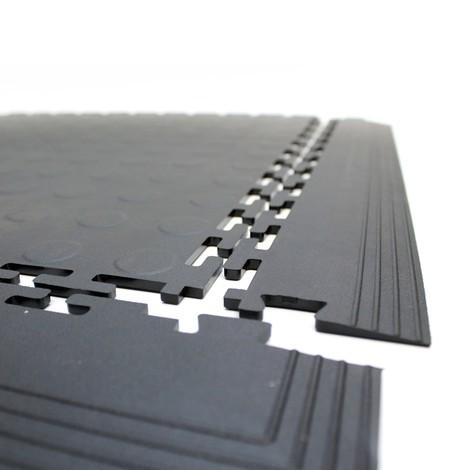 PVC-Bodenfliese, Noppenoptik