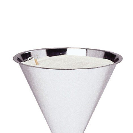Quartz silver sand for pedestal ashtray
