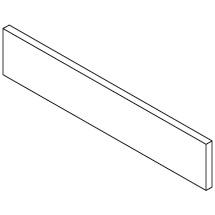 Querteiler für Rollcontainer mit Materialauszug. Maß 65 x 330 x 12 mm (HxBxT)