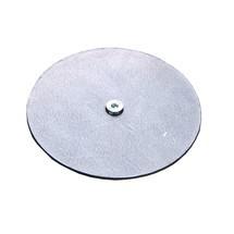 Raccordo a stella per vasca di raccolta piatta in acciaio