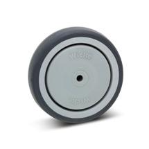 Rad Apparate-Rolle aus Polypropylen, spurlos. Tragkraft 75 - 100 kg