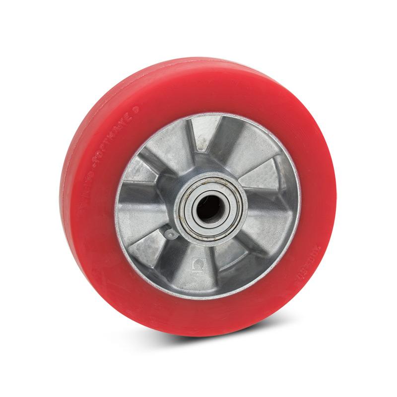 Rad Wicke aus Soft-Polyurethan. Tragkraft 200 - 300 kg