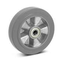 Rad Wicke Premium aus Elastik-Vollgummi, spurlos. Tragkraft 180 - 350 kg
