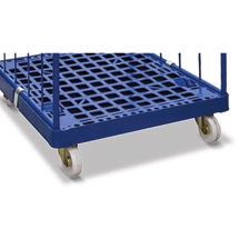 Radausstattung, Rollbehälter, Polyamid/Elastikgummi 125mm
