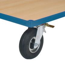 Räder mit Luftbereifung für Werkstattwagen fetra® TK 250kg
