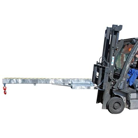 Ramię ładunkowe model 1, wersja sztywna, 3 pozycje haka