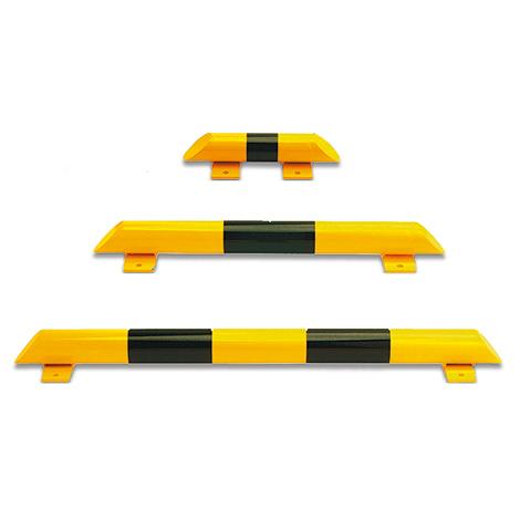 Rammschutz-Balken für Innen, kunststoffbeschichtet, zum Aufdübeln