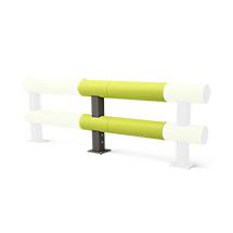 Rammschutz-Barriere aus Kunststoff, Doppelplanke Anbau-Set, 1500mm