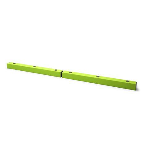 Rammschutz-Bodenbarriere, fluoreszierend