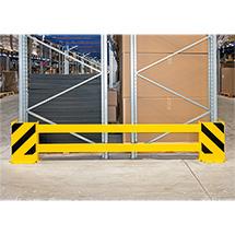 Rammschutz-Planken, Komplett-Set: komfortable Längenverstellung