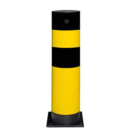 Rammschutz-Poller Swing, kunststoffbeschichtet und verzinkt, elastisch