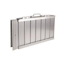 Rampa plegable de aluminio