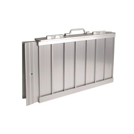 Rampe rabattable en aluminium
