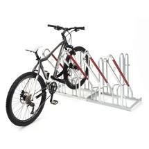 Range-vélo avec support incliné, 1 face