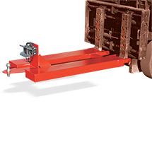 Rangierhilfe RH-RAK mit selbsttätiger Anhängerkupplung Rockinger RO 244-2 mit Bolzen (Ø 25 mm) und zusätzlich mit Kupplungskugel