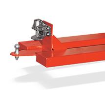 Rangierhilfe RH-RMK mit Anhängerkupplung Rockinger RO 805 B mit Bolzen (Ø 31,5 mm) und zusätzlicher Kupplungskugel