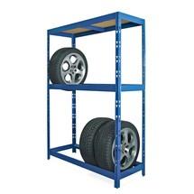 Rayonnage BASIC pour pneus, revêtement par poudrage