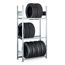 Rayonnage pour pneus SCHULTE, travée de base