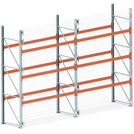 Rear panel grid for META MULTIPAL pallet rack