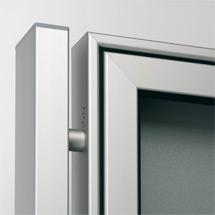 Rechteckrohr Ständer 80x40mm f. PROFI-Schaukasten, Aufdübeln