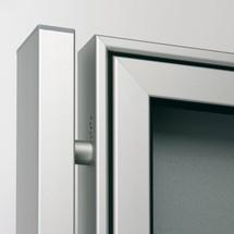 Rechteckrohr-Ständer für Profi-Schaukasten
