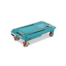 Ręczne wózki nożycowe Ameise® z podnoszonym blatem roboczym. Udźwig do 300 kg.