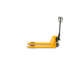 Ręczne wózki paletowe Ameise® z długimi widłami. Udźwig 2000 lub 3500 kg. Dł. wideł od 1500 do 2500 mm.