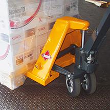 Ręczne wózki paletowe Ameise® z funkcją szybkiego unoszenia. Udźwig 2000 kg. Dł. wideł 1150 mm.