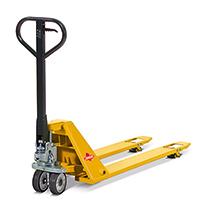 Ręczne wózki paletowe Ameise® z płaskimi widłami. Udźwig 1500 kg. Dł. wideł 1150 mm.