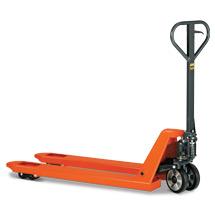 Ręczne wózki paletowe BASIC. Udźwig do 2500 kg. Dł. wideł 1150 mm